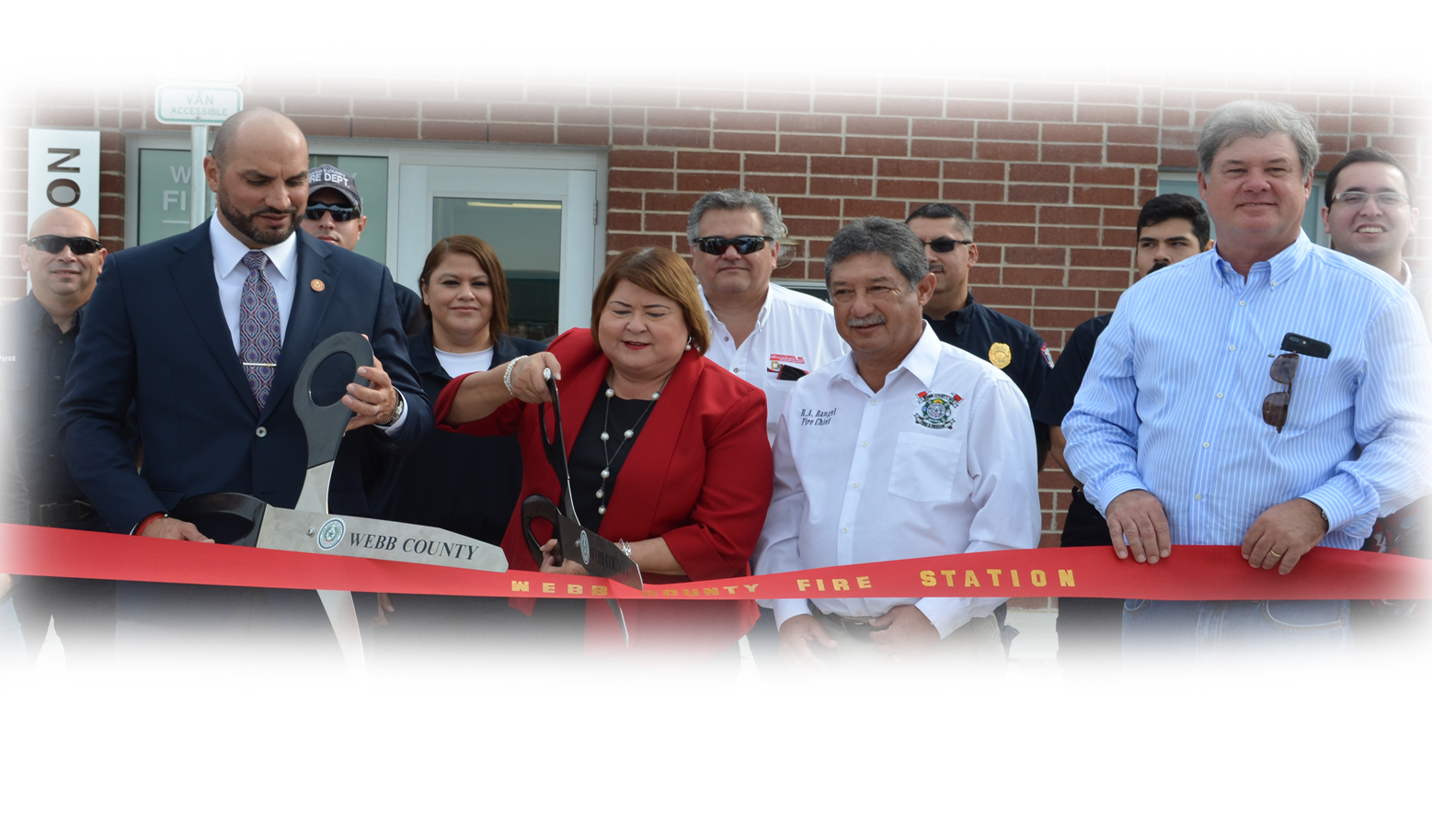 Judge Tano Tijerina Webb County Fire Station Opening Ceremony