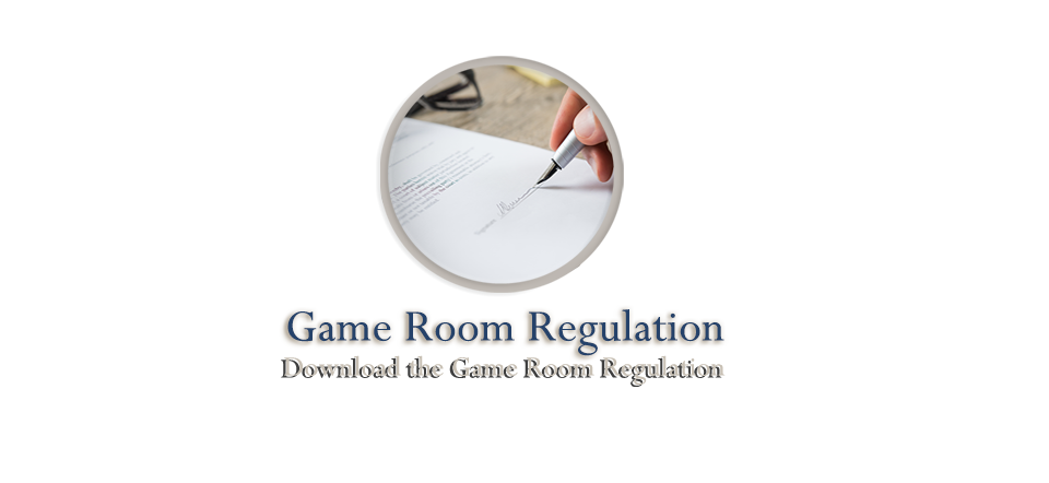 Game Room Regulation